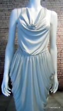 stunning silver grey drape harem dress 8 10