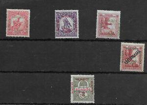 Hungary #NB1-NB3 MH NB4, NE1 - Stamp - CAT VALUE $40.60