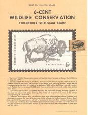 #1392 6c Wildlife Conservation Unofficial Souvenir Page FD HC