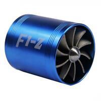 Auto Elektrische Turbo Turbine Turbolader doppel Lufteinlass Lüfter 65-74mm SL#