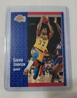 1991 Fleer Magic Johnson #100 Basketball Card