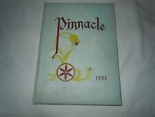 """Pinnacle""-- Hamburg PA High School 1953 Yearbook"