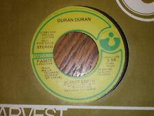 Duran Duran 45 Planet Earth HARVEST PROMO