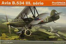 Eduard 1/72 EDK70101 avia B.534 iii serie profipack edition