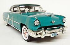 Road Signature 1/18 Scale 1952 Lincoln Capri Two Tone Green Diecast Model Car