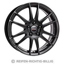 Alufelge Alutec Monstr 6,5x17 ET40 racing-schwarz