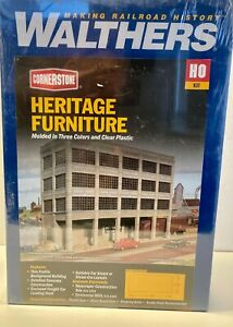 Walthers HO Cornerstone Heritage Furniture building kit
