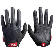 HIRZL Tour FF 2.0 Leather Bike Gloves Black XXXL Full Finger Cross MTB Gravel