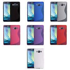 Cover e custodie bianco Per Samsung Galaxy A5 in silicone/gel/gomma per cellulari e palmari