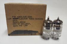 5879 RCA vacuum tube NOS NIB matched pair by Tektronix Inc