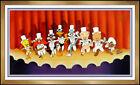 Warner Bros Friz Freleng Bugs Bunny Chorus Line Hand Painted Cel Animation Art