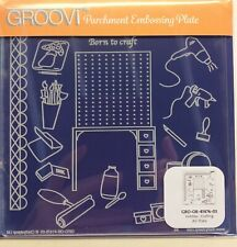 Brand New - Hobbies - Crafting  A5 Square Groovi Plate for Parchment Craft