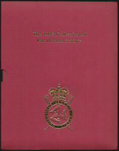 Isle of Man 1998 Coillection of Stamps - Year Book in Sleeve
