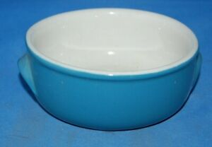 United Airlines: eared cereal bowl produced by The Hall China Co.