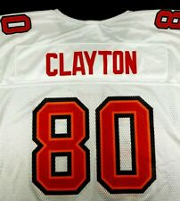 Michael Clayton Tampa Bay Buccaneers Jersey XL #80 Reebok NFL White Red Mesh