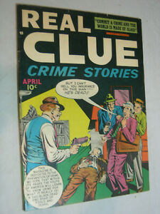 Real Clue Crime Stories V3 #2 F Insurance for a dead man WOW