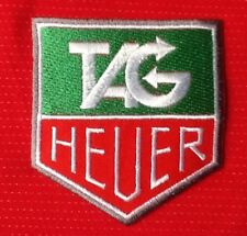 TAG HEUER F1 MOTOR RACING  BADGE IRON SEW ON PATCH CREST