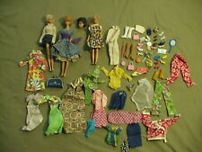 1950's & 60's Barbies, clothes & accessories