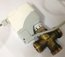 Heizungsmischer Siemens 3-Wege Ventil DN20, 230V, Stellmotor Antrieb SSA31.1 FBH