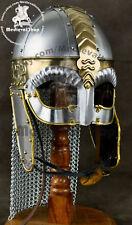 Medieval SCA LARP Viking Wolf Helmet Reenactment Armor Helmet Replica