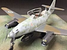 "Me 262B-1a/U1 10/NJG II- ""Red Six"" Diverse Images Ltd -Pewter Display Model"