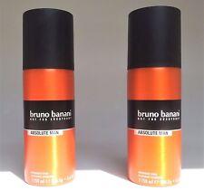 Bruno Banani Deo Spray Deodorant ABSOLUTE  MAN 2 x 150 ml