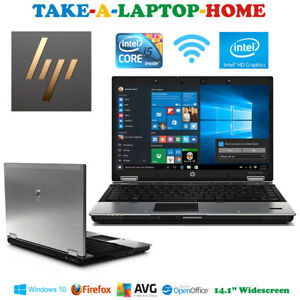 HP Silver Windows10 Laptop Fast Intel Core i5 WiFi Bluetooth DVDRW Webcam Boxed