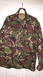 Mens Combat Jacket - Army Camouflage - Royal Navy United Kingdom - Greens