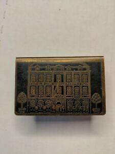 Vintage Hotel Excelsior Ypres matchbox holder automobile association