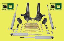 """2001-2010 Ford Ranger 2WD 4""""/3"""" Lift Kit Spindles/Blocks /4 Shocks 4&6 Cylinder"""