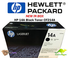 Genuine HP Laserjet 14A (C214A)  Toner NEW in Box with Free Delivery