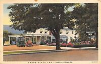 Port Allegany Pennsylvania~Canoe Place Inn~1940s Postcard