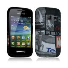 Housse étui coque en gel pour Samsung Wave Y S5380 avec motif LM17