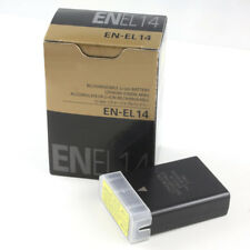 EN-EL14 ENEL14 Camera battery for Nikon D5100 D3100 P7100 D3200 D5200 MH-24