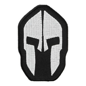 Malone Labe Spartan Helmet Patch, Come & Take Them Patches