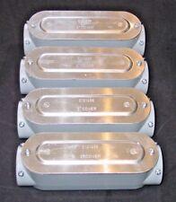 BWF / Teddico D305 CGV - 2 inch conduit fitting / condulet - LOT of 4