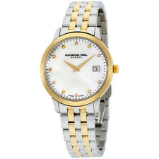 Raymond Weil Toccata Mother of Pearl Stainless Steel Ladies Watch 5388-STP-97081