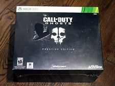 New Call of Duty: Ghosts Prestige Edition Game (Xbox 360, 2013) Torn Cellophane