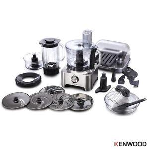 Kenwood Stainless Steel Multipro Sense Food Processor & Blender 1000W, FPM810
