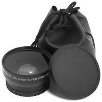 52mm Wide Angle 0.45X Macro Lens for Nikon DSLR D3100 D3200 D5100 D5200 D7000