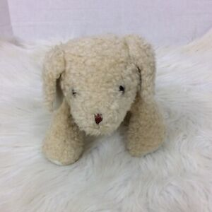Carters Just One Year Puppy Dog with Rattle Plush Stuffed Animal Style 2452