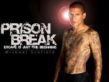 Prison Break Season Series 1 One Pilot Script. Wentworth Miller, Dominic Purcell