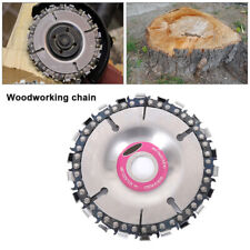 Angle Grinder Saw Blade Disc 22tooth Chain Saw Carving Wood Plastic 100/115mm CA
