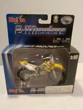 N 1:18 SUZUKI RM250 RMZ250 model motorcycle Motocross dirt bike toy Diecast