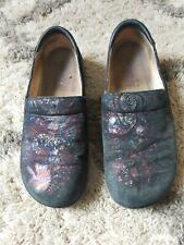 Alegria Shoes Nursing Clog Slip Resistant Kel 753 Size 40 Leather