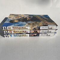 Death March to the Parallel World Rhapsody Lot of 3 Vol 1-3 Manga Books Ex-Lib
