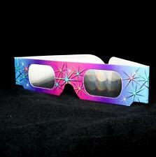 3D Fireworks Glasses - 50 pair - Rainbow Diffraction Rave Viewers - Summer Party