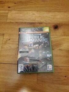 Star Wars: Republic Commando (Xbox Original New Sealed - PAL