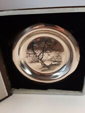 Franklin Mint Along the Brandywine Plate by James Wyeth, 1972