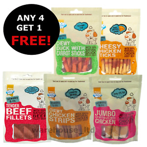 Good Boy Pawsley & Co Chicken. Duck, Steak, Lamb, Dog Healthy Treats Chews